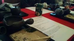 澤田園で日本茶の淹れ方を学ぶ
