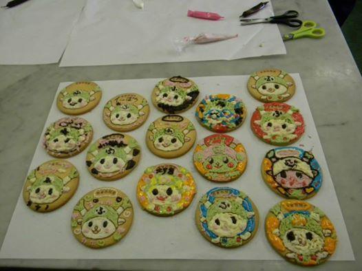 ふっかちゃんのお絵かきクッキー