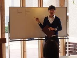 韓国語講座の様子