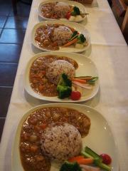 特製親鶏ひき肉カレー