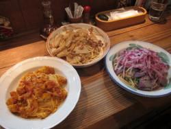 深谷産の食材を使ったオリジナルパスタ3種