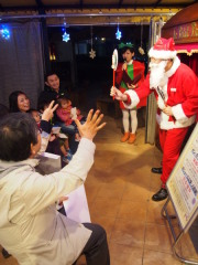 サンタさんとのジャンケン大会