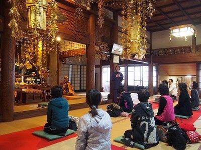 瑠璃光寺の本殿
