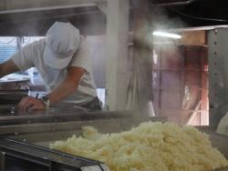 麹菌を入れる前のお米