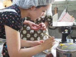 和菓子作り1