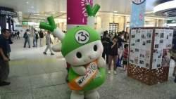 JR大宮駅でのPR