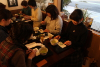 和菓子と抹茶でお茶会