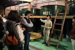滝澤酒造・酒蔵内の見学